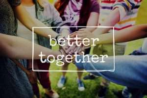 Better-Together-Friendship Community Togetherness-Concept
