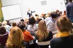 Comunicazione efficace in pubblico ad una conferenza